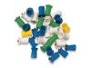 Prophy Cups Rib/Web Screw Type Soft Blue