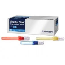 Painless Steel Plastic Hub Needles