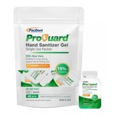 ProGuard Gel Hand Sanitizer - Single Use Packets