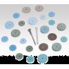 Faskut Abrasive Silicone Wheels