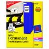 Permanent ID Labels
